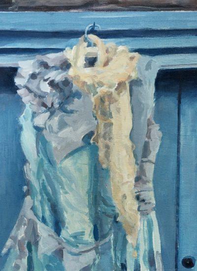 Carol Hayslip silk dress