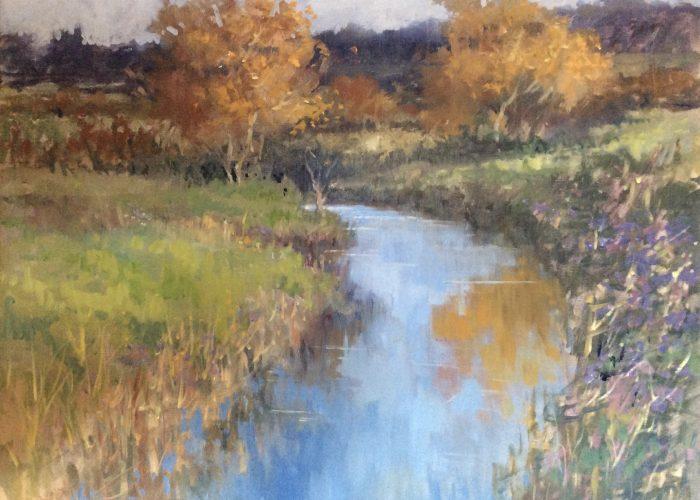 Gillian Flack - Suffolk in the Autumn